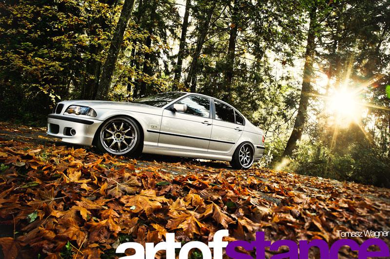 BMW, 325i, Fall, Season, Leaves, Sunrise, Awesome, Epic, Flashes, Rig