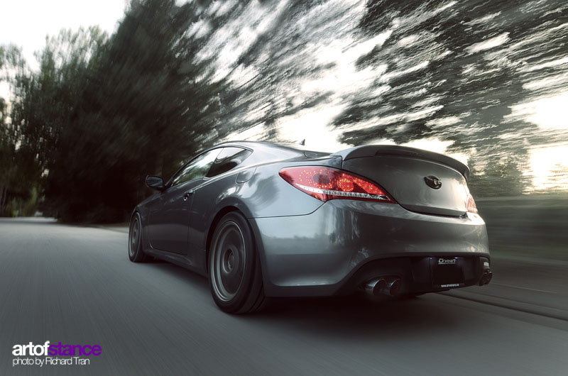 Genesis Coupe Featured On Art Of Stance Hyundai Genesis